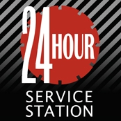 24 Hour Service Station