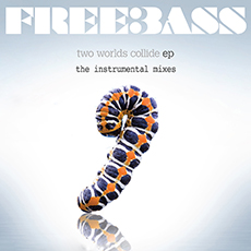 Two Worlds Collide EP – The Instrumental Mixes – Freebass